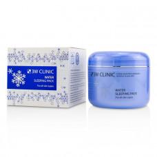 Маска для лица ночная Увлажнение 3W Clinic Water Sleeping Pack