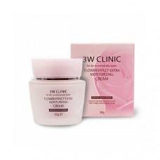 Крем для лица Увлажнение 3W Clinic Flower Effect Moisture Cream