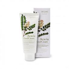 3W Clinic Moisturizing Hand Cream (Acacia) Крем для рук с соцветиями акации