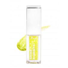 7 Days Тени для век мерцающие жидкие Shine, Bombita! т.406 лимонный