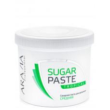 Aravia Professional Сахарная паста для депиляции Тропическая, средней консистенции