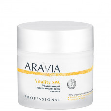 Aravia Professional Крем для тела увлажняющий укрепляющий Vitality SPA