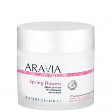 Aravia Professional Крем для тела питательный цветочный Spring Flowers