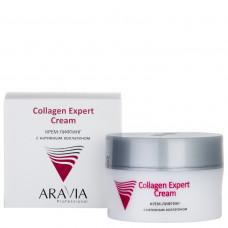 Aravia Professional Крем-лифтинг с нативным коллагеном Collagen Expert Cream