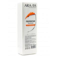 Aravia Professional Полоски для депиляции 76*230мм 90г/м2