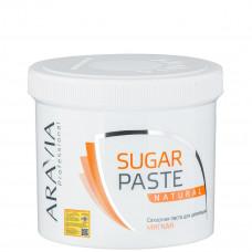 Aravia Professional Сахарная паста для депиляции Натуральная, мягкой консистенции
