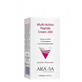 Aravia Professional Мульти-крем с пептидами и антиоксидантами Multi-Action Peptide Cream 24H