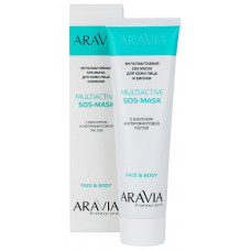 Aravia Professional Мультиактивная SOS-маска для кожи лица и бикини Multiactive Sos-mask