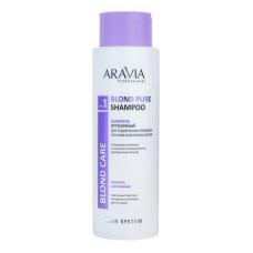 Aravia Professional Шампунь оттеночный для холодных оттенков осветленных волос