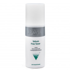 Aravia Professional Тонер балансирующий с салициловой кислотой для жирной кожи Sebum Free Toner