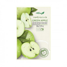 Освежающаяя маска для лица (зеленое яблоко) Always21 Green Apple Nature Refresh Mask Sheet