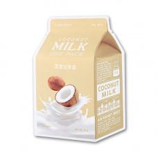 Увлажняющая тканевая маска с кокосовым молоком A'Pieu Coconut Milk One-Pack