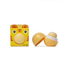 Beauty Bar Бальзам для губ с ароматом банана (коробочка)