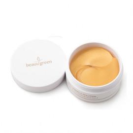 Гидрогелевые патчи с коллагеном и коллоидным золотом для кожи вокруг глаз BeauuGreen Collagen & Gold Hydrogel Eye Patch