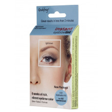 Godefroy Instant Eyebrow Tint Light brown Краска-хна в капсулах для бровей, набор (светло-коричнев.)