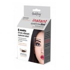 Godefroy 00009 Eyebrow Tint Natural Black Краска-хна в капсулах для бровей и ресниц, набор (черная)