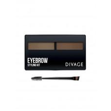 Divage Набор для моделирования формы бровей Eyebrow Styling №1