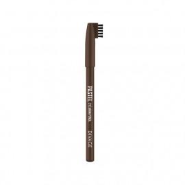 Divage Карандаш для бровей Pastel 1106 тон темно-коричневый
