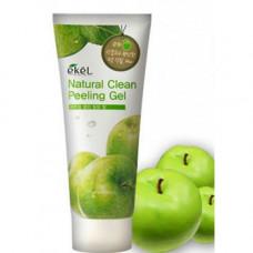 Ekel Пилинг-гель для лица с экстрактом яблока Natural Clean Peeling Gel Apple