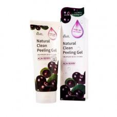 Пилинг-гель для лица с экстрактом ягоды асаи Ekel Natural Clean Peeling Gel Acai Berry