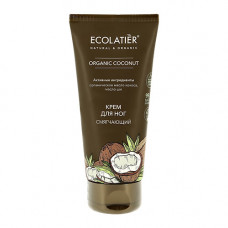 Ecolatier Green Крем для ног смягчающий Organic Coconut