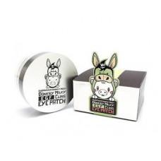 Патчи с ослиным молоком Elizavecca Donkey Piggy Milky EGF Cling Eye Patch