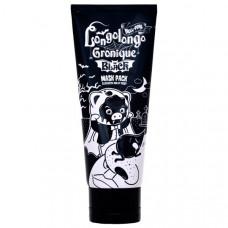Маска-пленка глубокоочищающая поры Elizavecca Hell-pore Longolongo Gronique Black Mask Pack