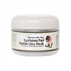 Очищающая глиняно-пузырьковая маска для лица Elizavecca Milky Piggy Carbonated Bubble Clay Pack