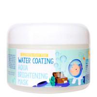 Глубокоувлажняющая ночная маска с эффектом сияния кожи лица Elizavecca Water Coating Aqua Brightening Mask