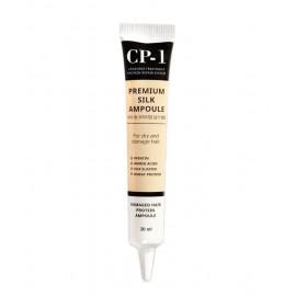 Несмываемая сыворотка для волос с протеинами шёлка Esthetic House CP-1 Premium Silk Ampoule (1 шт.)