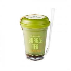 Ночная маска с пузырьками с экстрактом зеленого чая Etude House Bubble Tea Sleeping Pack Green Tea