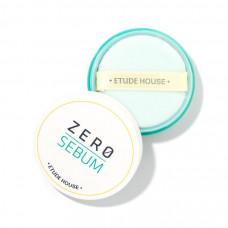 Пудра рассыпчатая матирующая минеральная Etude House Zero Sebum Drying Powder