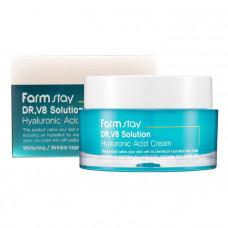 Увлажняющий крем с гиалуроновой кислотой FarmStay DR.V8 Solution Hyaluronic Acid Cream