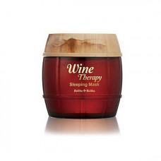 Ночная обновляющая маска с красным вином Holika Holika Wine Therapy Sleeping Mask Red Wine