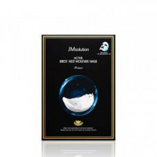 JM solution Маска с экстрактом ласточкиного гнезда Active Birds Nest Moisture Mask Prime