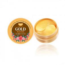 Гидрогелевые патчи с золотом и маточным молочком KOELF Gold & Royal Jelly Eye Patch