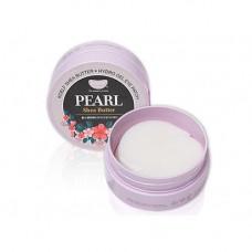 Гидрогелевые патчи с жемчугом и маслом ши KOELF Pearl & Shea Butter Eye Patch