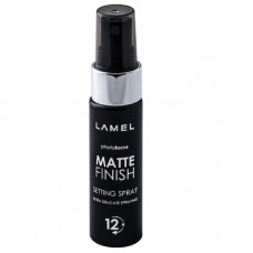 Lamel Спрей для фиксации макияжа Matte Finish spray