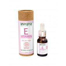 Levrana Сыворотка для лица Витамин Е, растительный, чистый антиоксидант