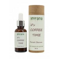 Levrana Сыворотка для лица It`s coffee time с кофеином