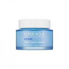 Увлажняющий охлаждающий крем с ледниковой водой Патагонии Missha Super Aqua Ice Tear Cream