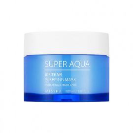 Ночная маска с травяным комплексом Missha Super Aqua Ice Tear Sleeping Mask