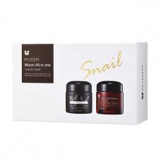 Mizon Набор кремов на основе муцина улитки All In One Cream Set+Gift Box