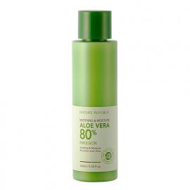 Успокаивающая эмульсия Nature Republic Aloe Vera 80% Emulsion
