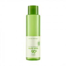 Успокаивающий тонер Nature Republic Soothing & Moisture Aloe Vera 90% Toner