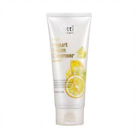 Очищающая пенка с экстрактом лимона Ottie Fruits Yogurt Foam Cleanser Lemon