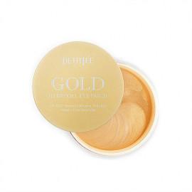 Гидрогелевые патчи для кожи вокруг глаз и для проблемныхучастков кожи лица с золотом Petitfee GOLD Hydrogel Eye Patch