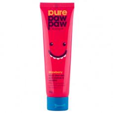 Pure Paw Paw Бальзам для губ с ароматом клубники