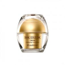 Питательный крем для кожи лица премиум-класса SeaNtree Snail Gold 24K Cream
