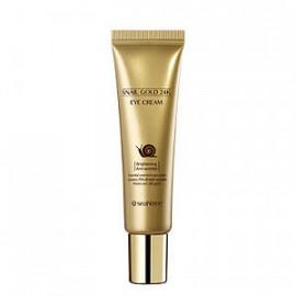 Питательный крем для кожи вокруг глаз SeaNtree Snail Gold 24K Eye Cream